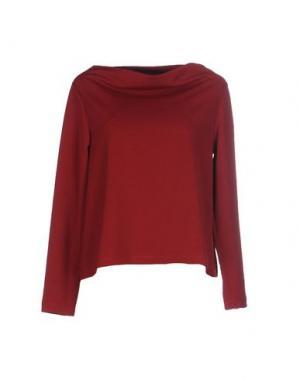Блузка CORINNA CAON. Цвет: кирпично-красный