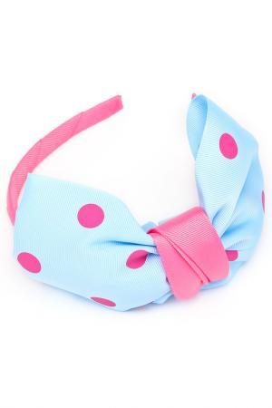 Ободок NICE GIRL. Цвет: голубой, розовый, фиолетовый