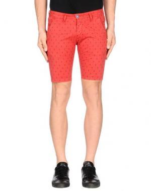 Повседневные шорты EXCLUSIVE. Цвет: красный