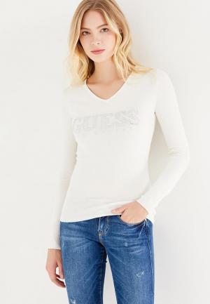 Пуловер Guess Jeans. Цвет: белый
