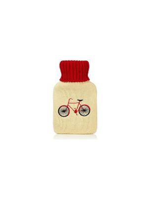 Грелка Bicycle Kawaii Factory. Цвет: бежевый, красный