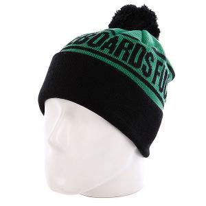 Шапка  Fu Beanie Green/Black Creature. Цвет: черный,зеленый