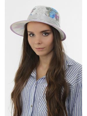 Шляпа Happy Charms Family. Цвет: белый, голубой, серый, фиолетовый