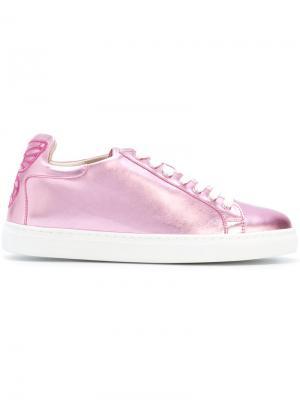 Кроссовки Bibi Sophia Webster. Цвет: розовый и фиолетовый