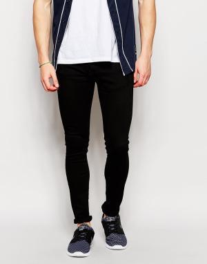 Loyalty & Faith Черные облегающие джинсы. Цвет: черный
