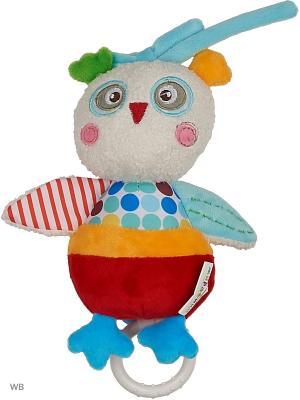 Музыкальная подвеска Совёнок Бонни Жирафики. Цвет: бежевый, красный, оранжевый, голубой