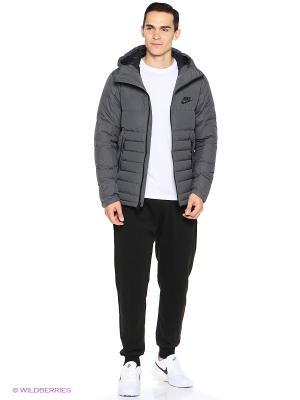 Куртка M NSW DOWN FILL HD JACKET Nike. Цвет: серый, темно-серый