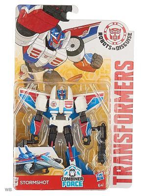 Трансформеры: Робот под прикрытием Hasbro. Цвет: лазурный, красный, белый