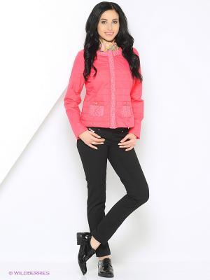 Куртка Mansion. Цвет: коралловый, розовый, лиловый