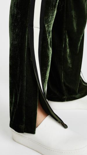 Velvet Track Pants Pam & Gela