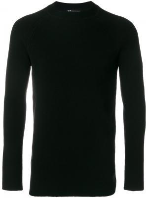 Трикотажный пуловер Y-3. Цвет: чёрный