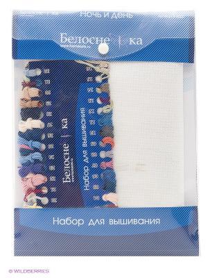 Набор для вышивания 14ст. Ночь и день (4000-14) Белоснежка. Цвет: белый