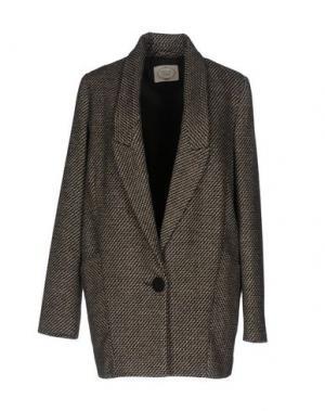 Пальто EMMA&GAIA. Цвет: черный