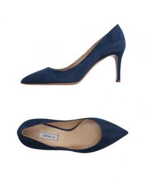 Туфли SEMILLA. Цвет: синий