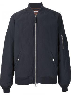 Куртка-бомбер 321. Цвет: чёрный