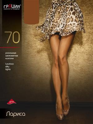 Колготки женские Лариса 70 Грация. Цвет: светло-коричневый