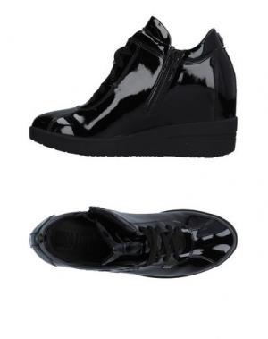 Низкие кеды и кроссовки RUCO LINE. Цвет: черный