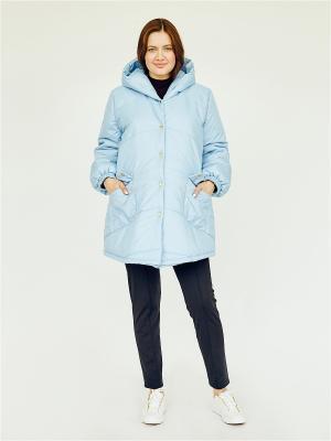 Куртка Мама Мила. Цвет: голубой