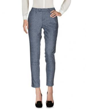 Повседневные брюки HAIKURE. Цвет: грифельно-синий