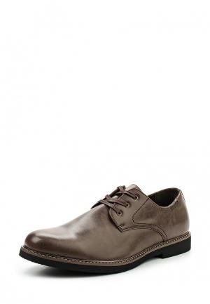 Туфли Pezatti. Цвет: коричневый