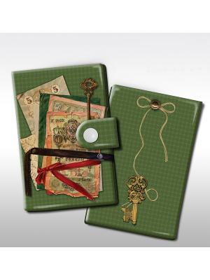 Визитница Банкноты Magic Home. Цвет: зеленый
