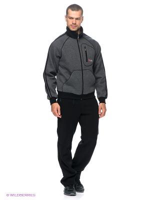 Спортивный костюм RED-N-ROCK'S. Цвет: черный, темно-серый