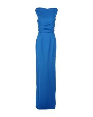 Длинное платье DSQUARED2. Цвет: лазурный