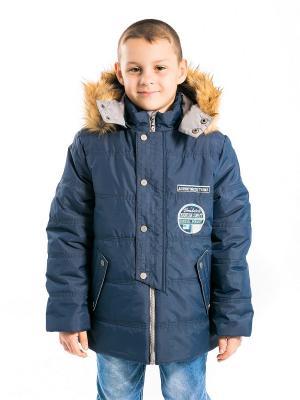 Куртка Сергей Аксарт. Цвет: темно-синий