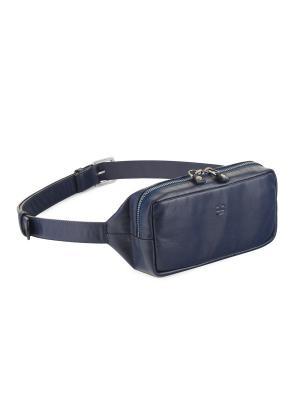 Поясная сумка IGOR YORK. Цвет: темно-синий, синий