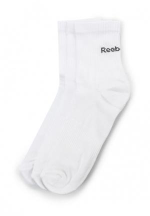 Комплект 3 пары Reebok. Цвет: белый