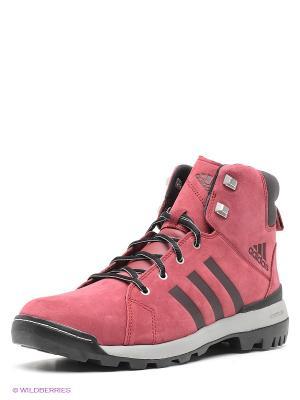 Кроссовки TRAIL CRUISER MID Adidas. Цвет: бордовый, черный