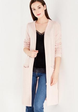 Кардиган Vero Moda. Цвет: розовый
