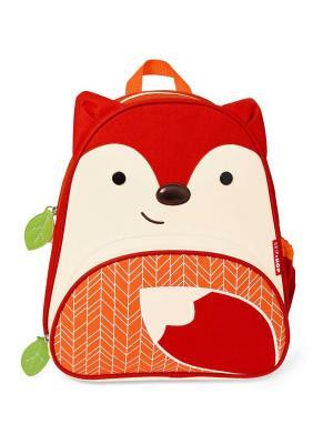 Рюкзак Лисичка SkipHop. Цвет: оранжевый, бежевый