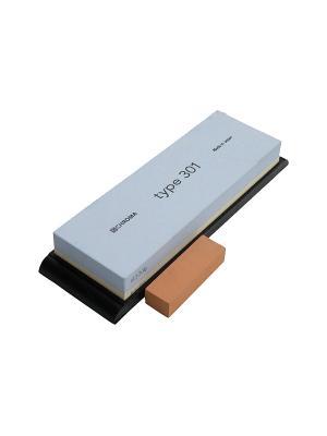 Ножеточка CHROMA P-35 камень зерно 1000/3500. Цвет: черный, серый, бежевый