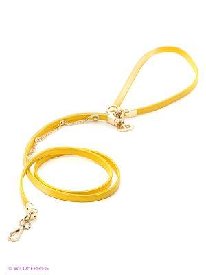 Поводок Doggy Style. Цвет: желтый