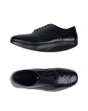 Обувь на шнурках MBT. Цвет: черный