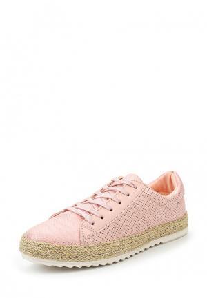 Кеды Exquily. Цвет: розовый