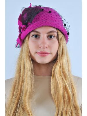 Шляпа La Manika. Цвет: фуксия