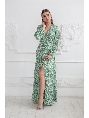 Платье макси на запах Self Made