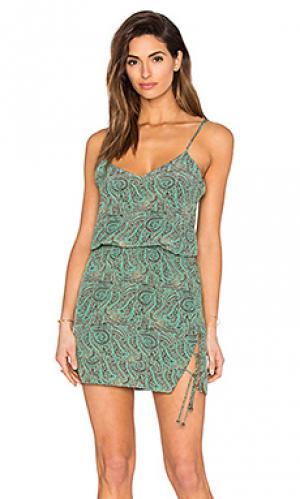 Платье nick Vix Swimwear. Цвет: зеленый