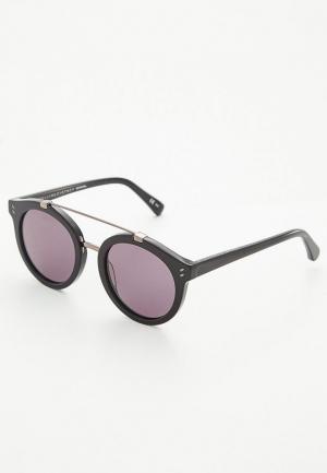 Очки солнцезащитные Stella McCartney. Цвет: черный