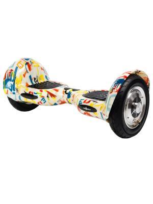 Оригинальный гироскутер CarWalk Offroad. Размер колеса 10 дюймов.. Цвет: красный, белый, желтый