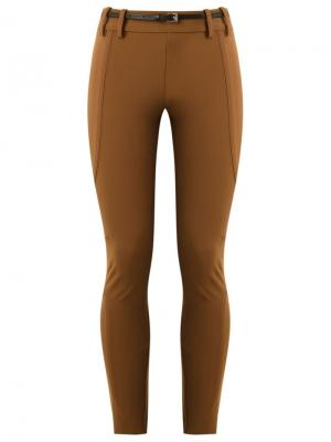 Panelled skinny trousers Gloria Coelho. Цвет: коричневый