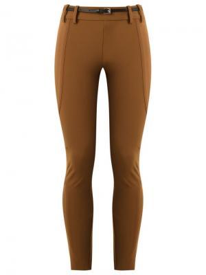 Panelled skinny trousers Gloria Coelho. Цвет: коричневый