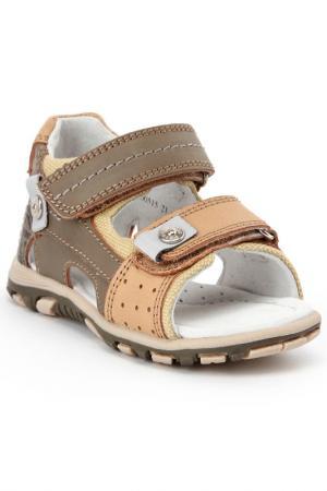 Туфли открытые MURSU. Цвет: бежевый
