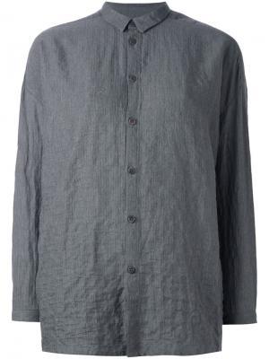Рубашка свободного кроя Toogood. Цвет: серый