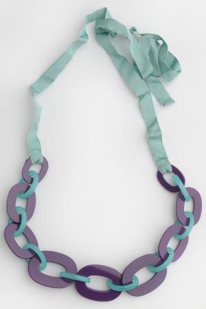 Пояс Ki6. Цвет: зелено-фиолетовый