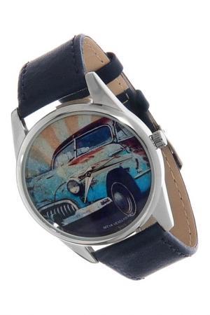 Часы Ретро-автомобиль MITYA VESELKOV. Цвет: темно-зеленый