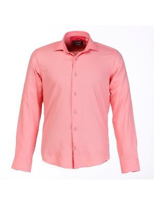 Рубашка BIRIZ. Цвет: коралловый