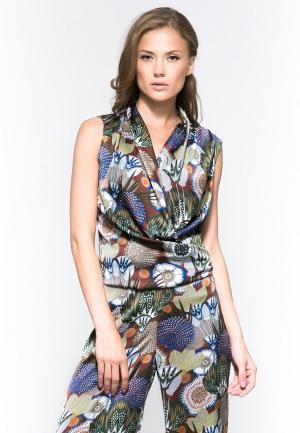 Блуза YuliaSway Yulia'Sway. Цвет: разноцветный